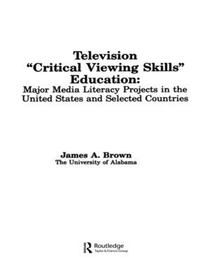 cover image of Television ',Critical Viewing Skills', Education
