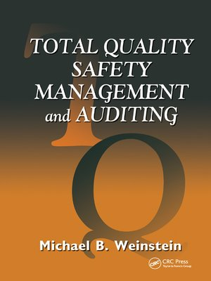 cover image of Total Quality Safety Management and Auditing