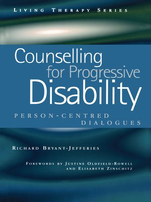 cover image of Counselling for Progressive Disability