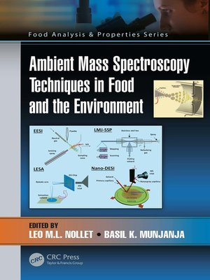 cover image of Ambient Mass Spectroscopy Techniques in Food and the Environment