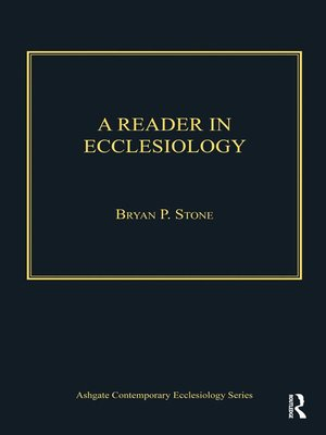 cover image of A Reader in Ecclesiology