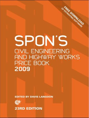 cover image of Spon's Civil Engineering and Highway Works Price Book 2009