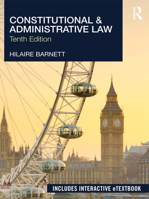 cover image of Constitutional & Administrative Law