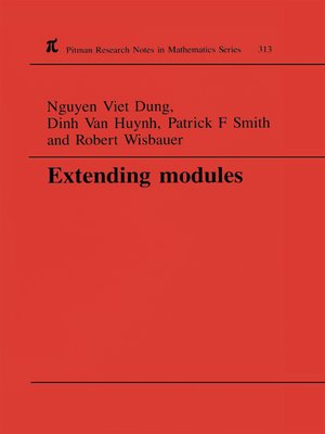 cover image of Extending Modules