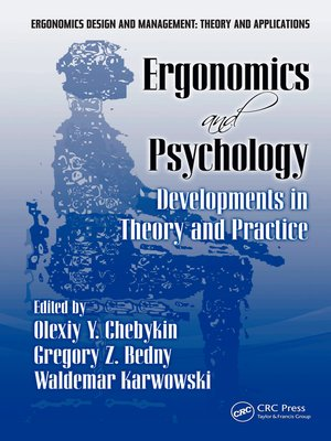 cover image of Ergonomics and Psychology