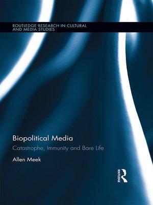 cover image of Biopolitical Media