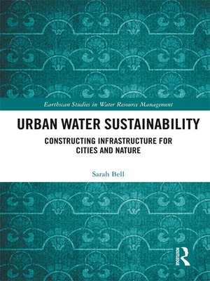 cover image of Urban Water Sustainability