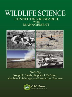 cover image of Wildlife Science