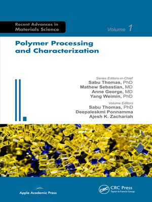 cover image of Polymer Processing and Characterization