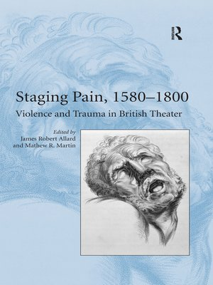 cover image of Staging Pain, 1580–1800