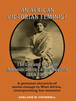 cover image of An African Victorian Feminist