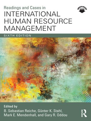 cover image of Readings and Cases in International Human Resource Management