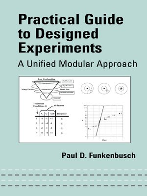 cover image of Practical Guide to Designed Experiments