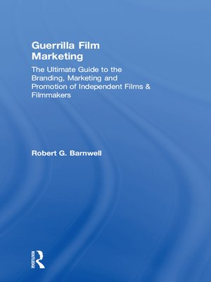 cover image of Guerrilla Film Marketing