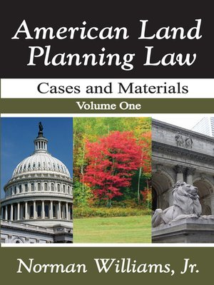 cover image of American Land Planning Law