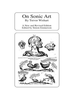 cover image of On Sonic Art