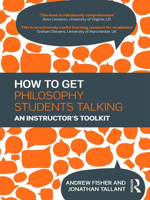 cover image of How to get Philosophy Students Talking