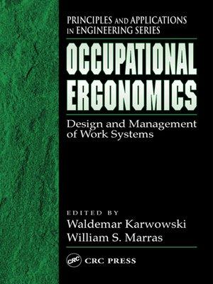 cover image of Occupational Ergonomics