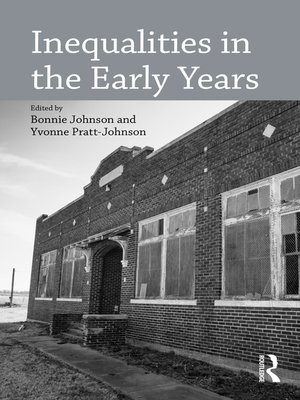 cover image of Inequalities in the Early Years