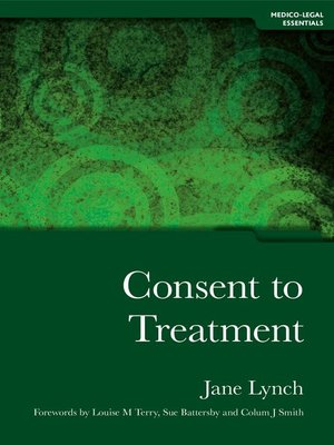cover image of Consent to Treatment
