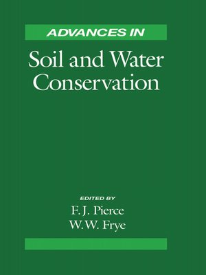 cover image of Advances in Soil and Water Conservation