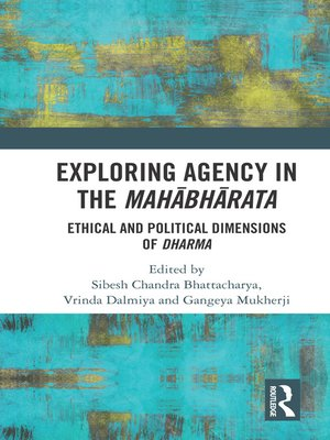 cover image of Exploring Agency in the Mahabharata