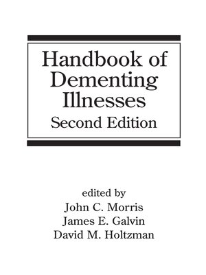 cover image of Handbook of Dementing Illnesses