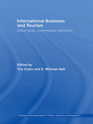 cover image of International Business and Tourism
