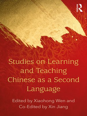 cover image of Studies on Learning and Teaching Chinese as a Second Language