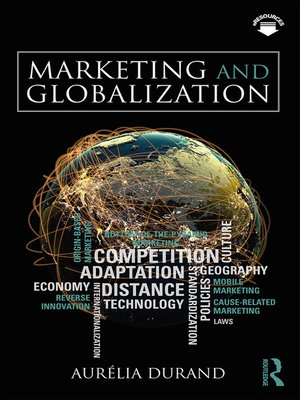cover image of Marketing and Globalization