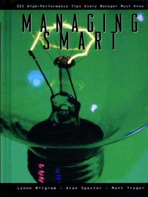 cover image of Managing Smart