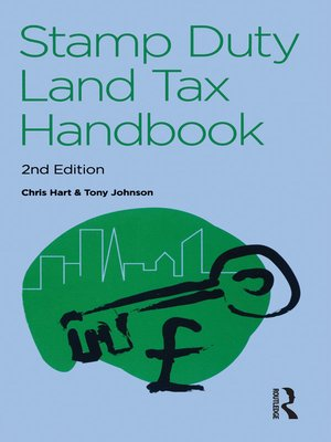 cover image of The Stamp Duty Land Tax Handbook