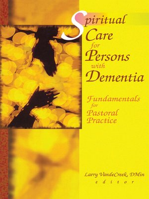 cover image of Spiritual Care for Persons with Dementia