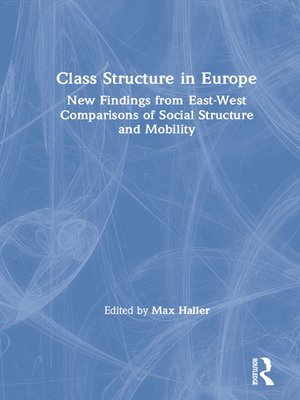 cover image of Class Structure in Europe