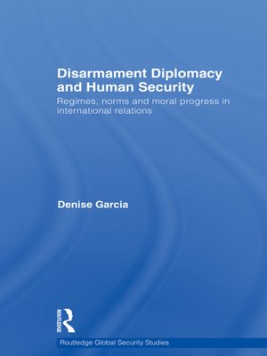 cover image of Disarmament Diplomacy and Human Security