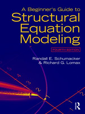 cover image of A Beginner's Guide to Structural Equation Modeling