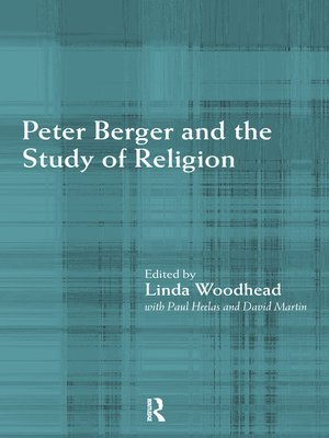 cover image of Peter Berger and the Study of Religion