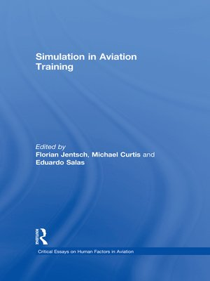 cover image of Simulation in Aviation Training