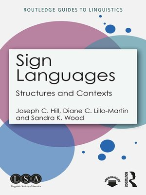 cover image of Sign Languages