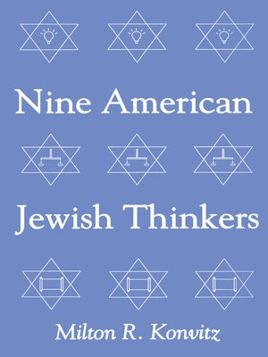 cover image of Nine American Jewish Thinkers