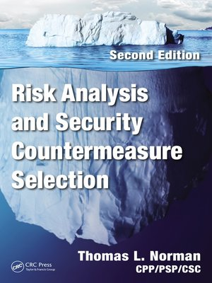 cover image of Risk Analysis and Security Countermeasure Selection