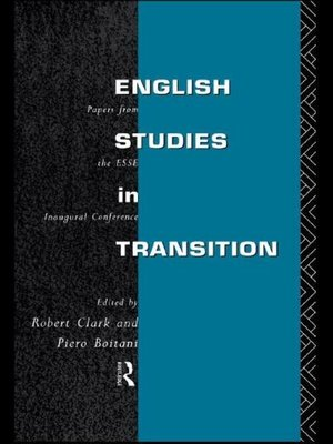 cover image of English Studies in Transition