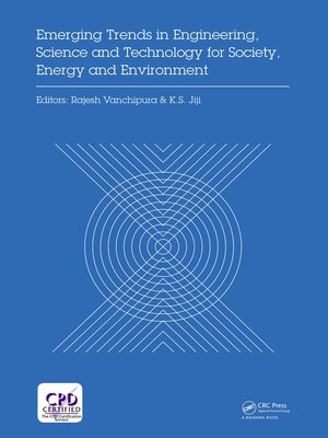 cover image of Emerging Trends in Engineering, Science and Technology for Society, Energy and Environment