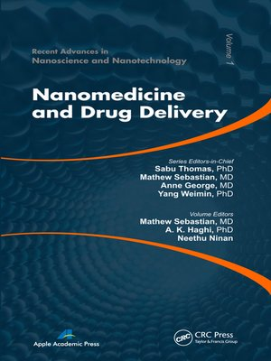 cover image of Nanomedicine and Drug Delivery