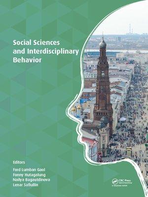 cover image of Social Sciences and Interdisciplinary Behavior