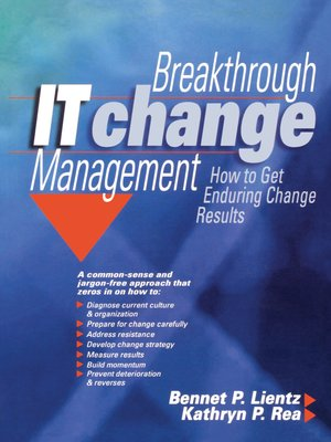 cover image of Breakthrough IT Change Management