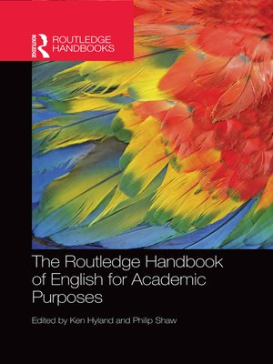 cover image of The Routledge Handbook of English for Academic Purposes