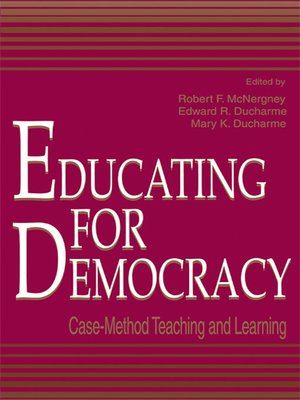 cover image of Educating for Democracy
