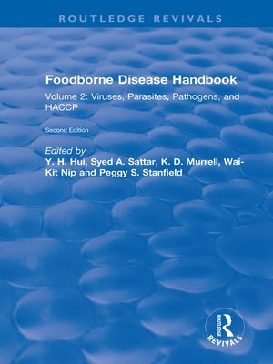 cover image of Foodborne Disease Handbook