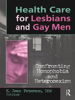 cover image of Health Care for Lesbians and Gay Men